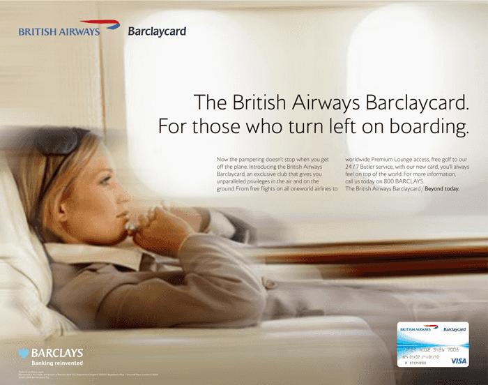 British Airways Barclaycard
